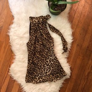 Banana Republic Animal Print Top